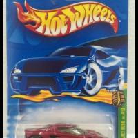 Hotwheels 2002 Lotus Project M250 TH Super -Metalflake Dark Red-