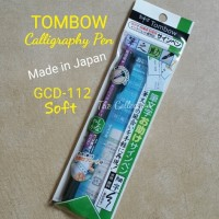 ATK0368FD SOFT GCD112 Tombow Fudenosuke Brush Pen Soft Tip warna Hitam