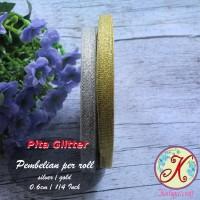 Pita Glitter 0,6 cm / 1/4 Inch