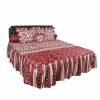 Sprei Rumbai King California motif Harmonia