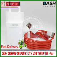DASH CHARGE ONEPLUS 3 3T VOOC FLASH CHARGER ORIGINAL 100% 5V 4A
