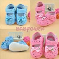 sepatu prewalker pink untuk bayi dan anak perempuan