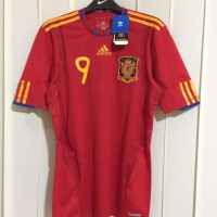sale jersey spanyol 2010 techfit original