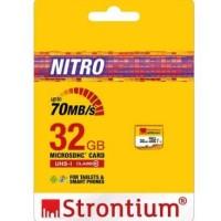 MicroSD Nitro Card 32GB Class 10 UHS-1 Garansi Strontium Resmi