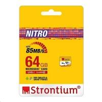MicroSD Nitro Card 64GB Class 10 UHS-1 Garansi Strontium Resmi