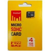 Basic MicroSD Card 4GB Class 6 Garansi Strontium Resmi