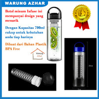Botol Minum Tritan Infused / Botol Infuse / Fruit Bottle (BPA FREE)