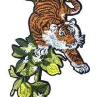 Emblem Patch Big Tiger Ukuran: 27x15cm