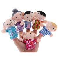 Boneka Jari (BonJar) Seri Family/Keluarga - Bahan Halus