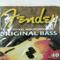 senar bass 4 string fender fullset ellektrik murmer