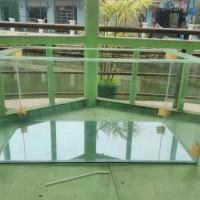 Aquarium kaca 80 x 40 x 40cm