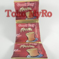 Kopi Good Day Mocacinno / Goodday Mokacino 10Pcs x 20Gr