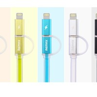 Remax Aurora High Speed MICRO USB & IPHONE 5 6