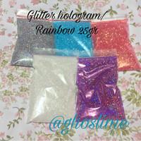 bubuk gliter hologram 25gr