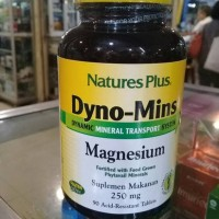 Natures Plus Dyno - Mins Magnesium 250MG isi 90 tablet
