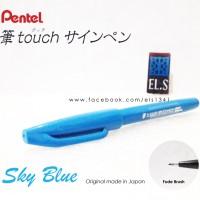Pentel Touch Brush Pen Sky Blue