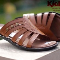 sandal pria kickers webber concept genuine leather sz 39-44