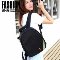 Tas kamera DSLR SLR Mirrorles Canon Nikon Sony fujifilm free raincoat