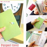 PROMO New Korean Pony Passport Cover (Sampul passport dari kulit taiga