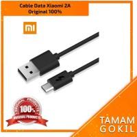 Original 100% Kabel Data Xiaomi micro USB 2A (logo Petir)