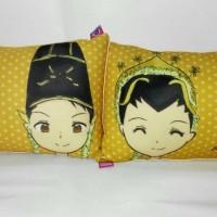 Bantal couple (uk.50x30 cm)/bantal foto/bantal custom/souvenir/kado