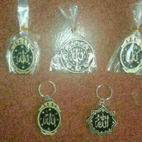 Souvenir Pernikahan Gantungan Kunci Kaligrafi Arab Tulisan Lafadz unik