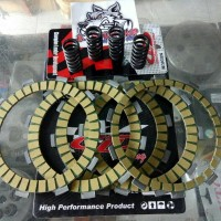 Kampas Kopling Dan Per kopling Ninja 150 R RR Merk Cld Racing
