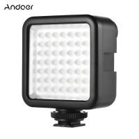 Andoer W49 Mini Interlock Camera LED Panel Light Video Lighting
