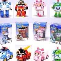 FIGURE ROBOCAR POLI 1 set 4 pcs