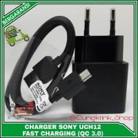 Charger Sony XPERIA UCH12 Z2 Z3 Z4 Z5 ORIGINAL 100% QUALCOMM 3.0