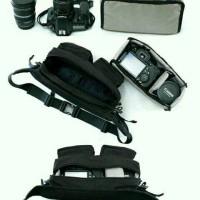 Tas Kamera Waist Bag Hip Pack with Insert Compartment
