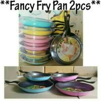 Teflon MASPION 2 PCS Fancy Fry Pan Set Teplon Wajan Anti Lengket