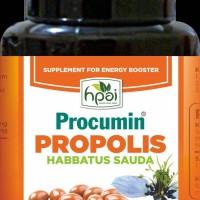 procumin Propolis Habbatussauda HNI HPAI