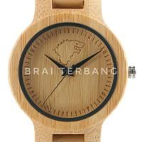 jam tangan bahan kayu dan kulit game of thrones house stark