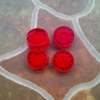 Speed Knob Red Potensio Black Number Volume Tone Control Knop Gitar Lp