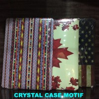 Case Casing Cover Sarung CRYSTAL CASE MOTIF MACBOOK AIR 13-INCH