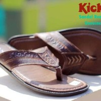 sandal pria kickers rempel concept 100% genuine leather sz 39-44