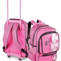 tas sekolah anak&remaja+tempat laptop, tas trolly hello kitty bagus