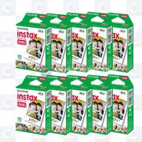 Fujifilm Instax Mini Instant Color Film isi 10 lembar x 10 pack
