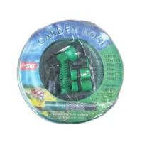 "Set garden hose selang kebun 1/2""x15m+semprotan air 5posisi"