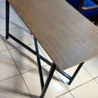 Meja Lipat 120x60 Laptop Cafe bazar meja belajar untuk anak sekolahan