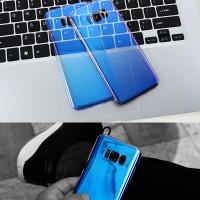 Blueray samsung galaxy S8 hard case aurora slim cover hardcase