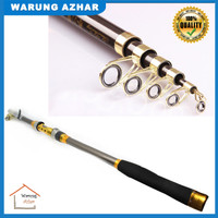 Joran Pancing Carbon Fiber Sea Fishing Rod 2.1M/5 -Yuelong  Gray