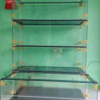 Aquarium kaca 120 x 40 x 40cm