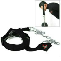 Rantai Beban Melatih Otot Leher Bahu Punggung Atas. Head Harness Belf