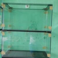 Aquarium kaca 75 x 30 x 40 cm