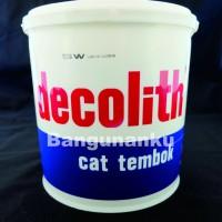 Cat Decolith 5 kg / Cat Tembok Decolith
