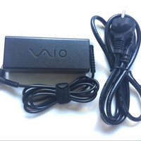 original charger Sony vaio charger laptop Sony 19.5v-3.3A DC 6.5*4.4