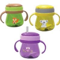 BABY SAFE BOTOL MINUM DENGAN BANDUL PEMBERAT - CUP WEIGHTED STRAW 250