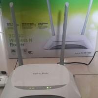 Paket Router Wifi 4G TP-Link TL-MR3420 dan Huawei E8372 LTE 4G Unlock